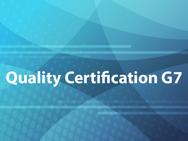Quality Certification G7