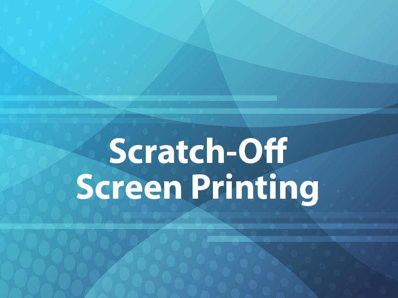 Scratch-off Screen Printing
