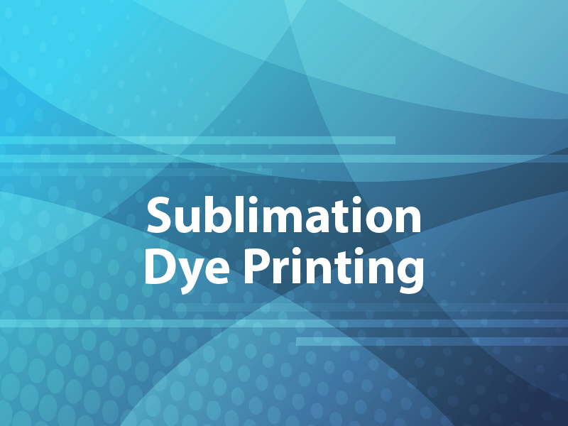 Sublimation Dye Printing