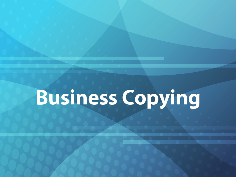 Business Copying
