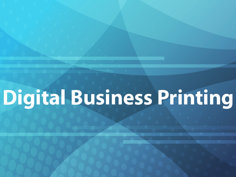 Digital Business Printing