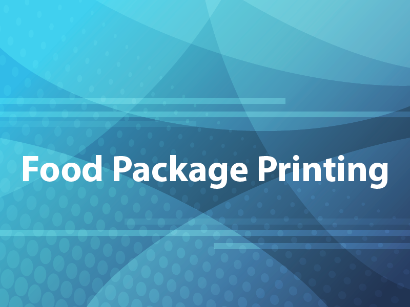 Food Package Printing