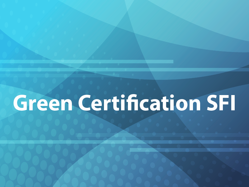 Green Certification SFI