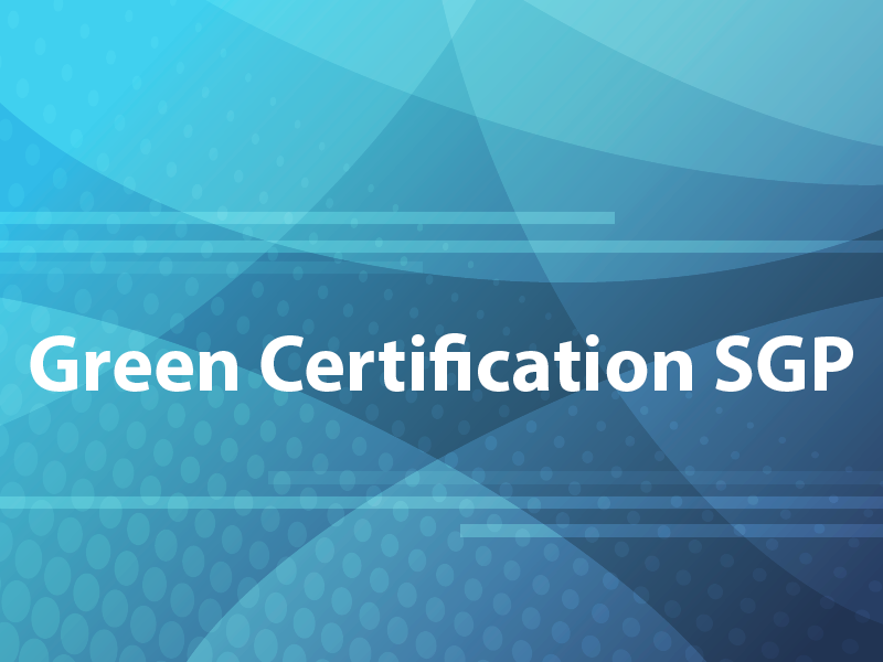 Green Certification SGP