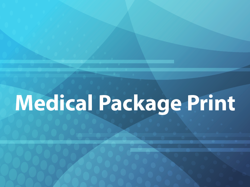 Medical Package Print
