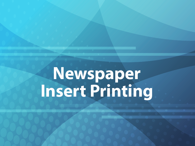 Newspaper Insert Printing
