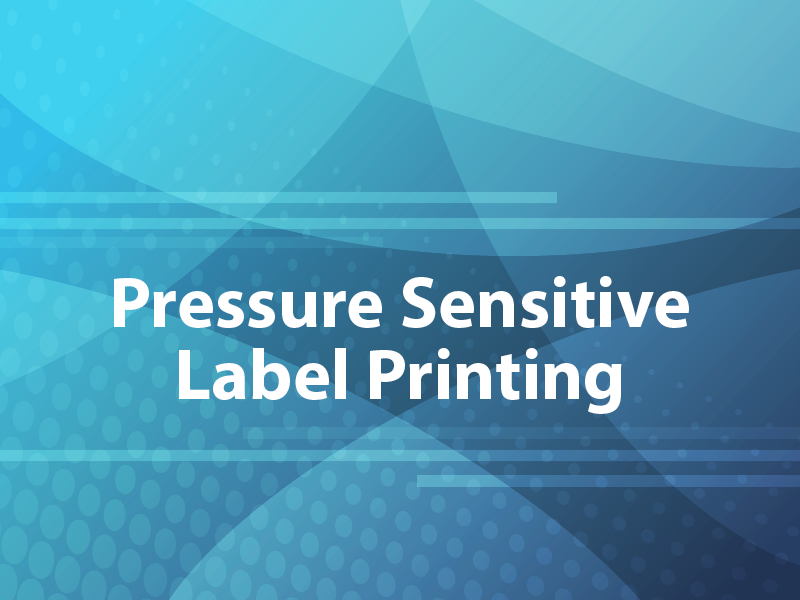 Pressure Sensitive Label Printing