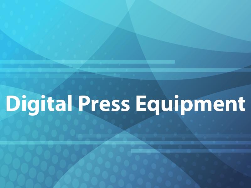 Digital Press Equipment