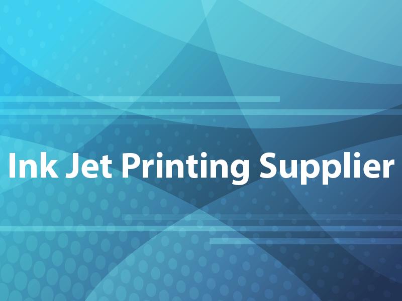 Ink Jet Printing Supplier