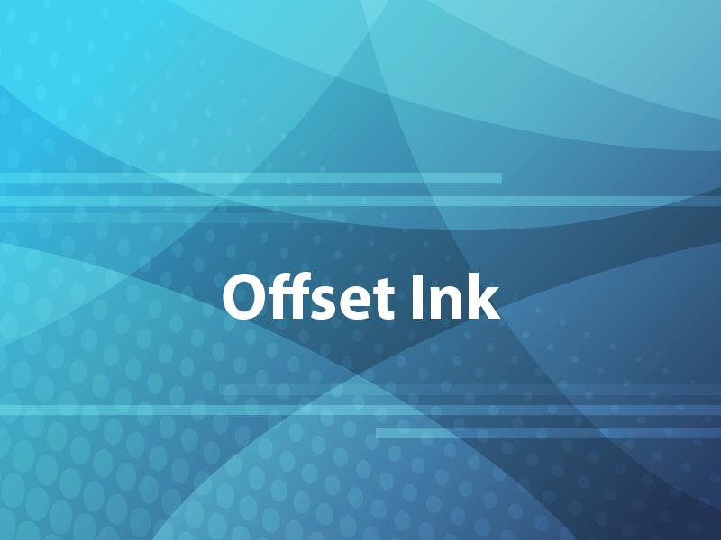 Offset Ink