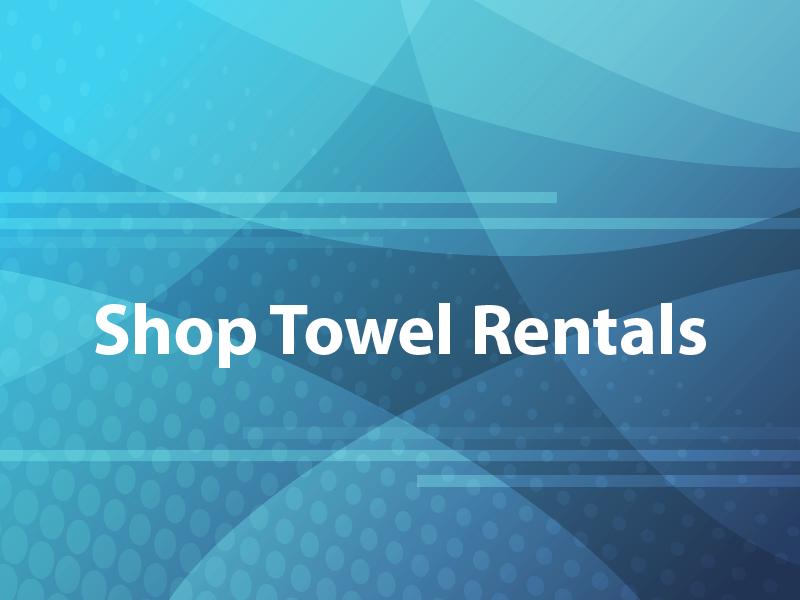 Shop Towel Rentals