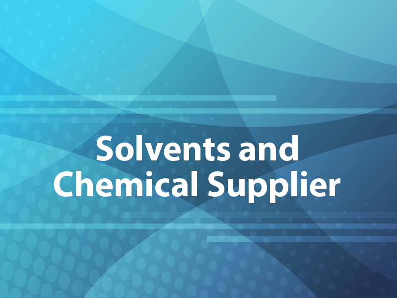 Solvents and Chemical Supplier